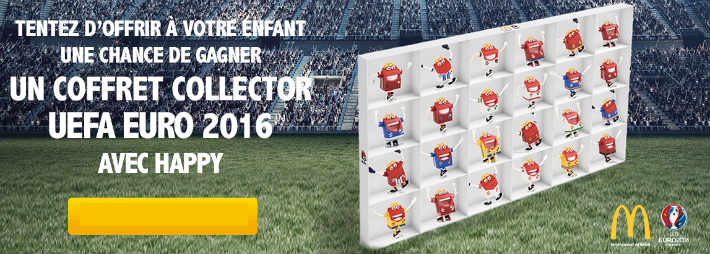 mcdonald 39 s grand jeu coffret happy uefa euro 2016. Black Bedroom Furniture Sets. Home Design Ideas