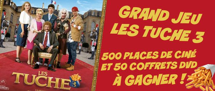 Grand jeu les Tuche 3 - www.jeulestuche3.fr