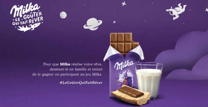 Grand jeu dessin Milka - www.milkalegouterquifaitrever.fr
