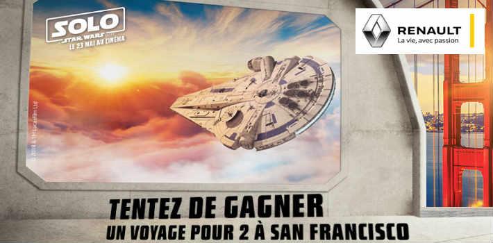 Renault.fr grand jeu Renault Star Wars