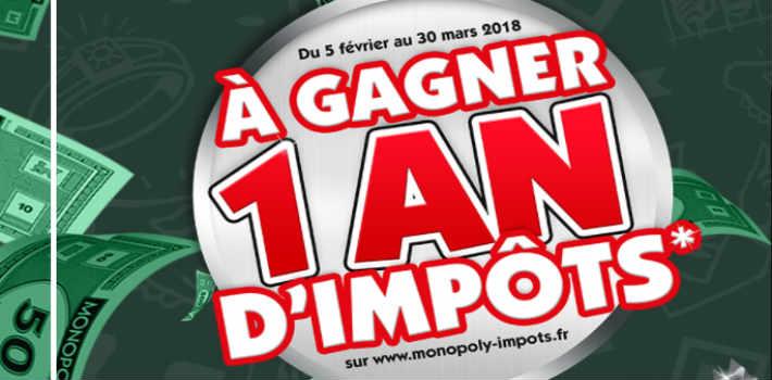 Grand jeu Monopoly Impots - www.monopoly-impots.fr